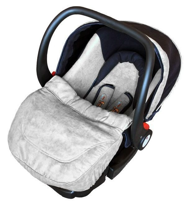 Автолюлька ForKiddy Little One Grey (в комплекте с базой)