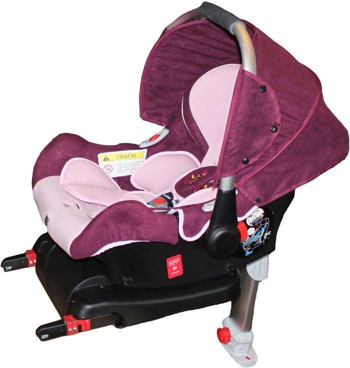 Автокресло ForKiddy Lagun Red (в комплекте с базой IsoFix)